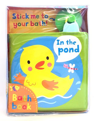 Book cover for In the Pond! A bath book