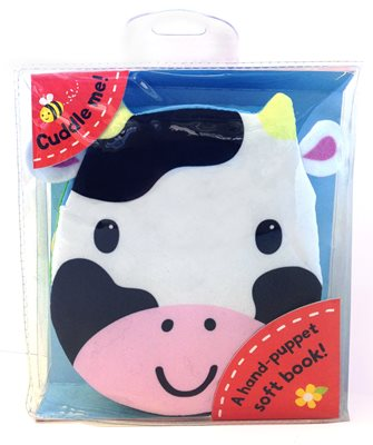 Book cover for Cuddly Cloth Puppets: Cows Go Moo!