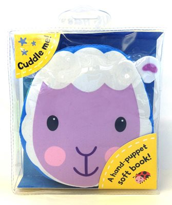 Book cover for Cuddly Cloth Puppets: Sleepy Sheep!