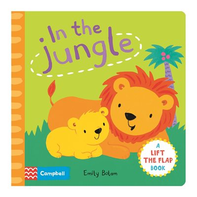 Book cover for Peekabooks: In the Jungle