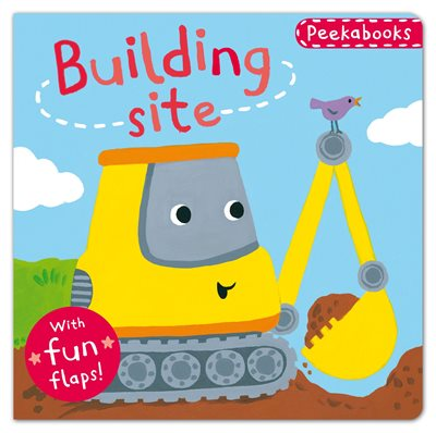 Book cover for Peekabooks: Building Site