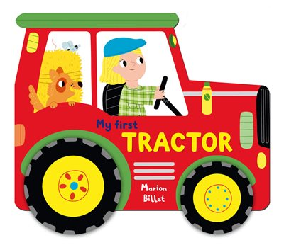 Book cover for Whizzy Wheels: My First Tractor