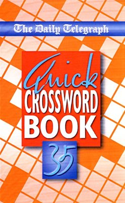 Book cover for The Daily Telegraph Quick Crossword...