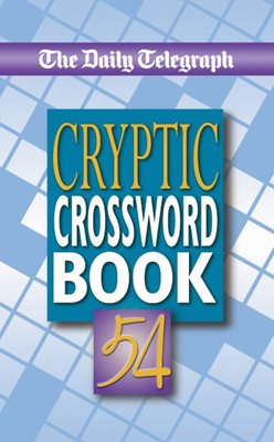 Book cover for Daily Telegraph Cryptic Crossword...