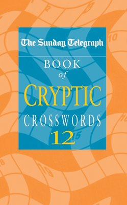 Book cover for Sunday Telegraph Book of Cryptic...