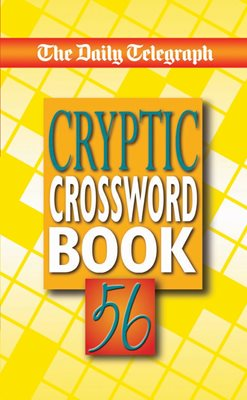 Book cover for The Daily Telegraph Cryptic Crossword...