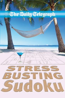 Book cover for The Daily Telegraph Stress Relief Sudoku