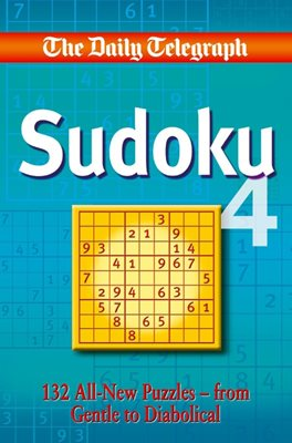 Book cover for Daily Telegraph Sudoku 4