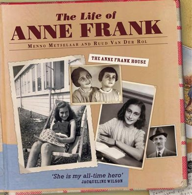 Book cover for The Life of Anne Frank