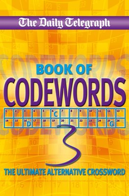 Book cover for Daily Telegraph Codewords 3