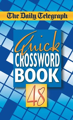 Book cover for Daily Telegraph Quick Crosswords 48
