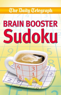 Book cover for Daily Telegraph Brain Boosting Sudoku