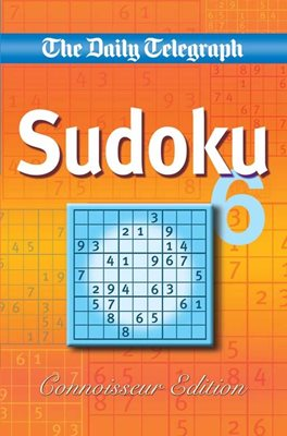 Book cover for Daily Telegraph Sudoku 'Connoisseur...