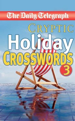 Book cover for Daily Telegraph Cryptic Holiday...