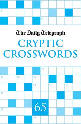 Book cover for Daily Telegraph Cryptic Crosswords 65