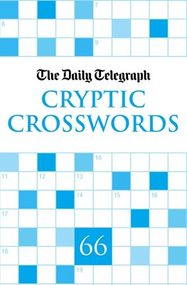Book cover for Daily Telegraph Cryptic Crosswords 66
