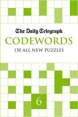Book cover for daily telegraph codewords 6