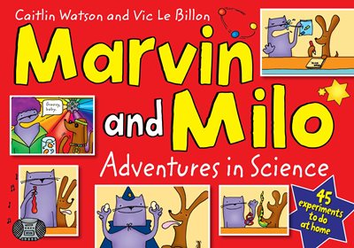 Book cover for Marvin and Milo