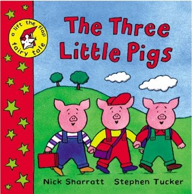 Book cover for The Three Little Pigs