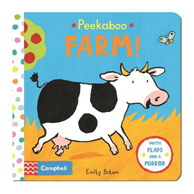 Book cover for Peekabooks: Peekaboo Farm