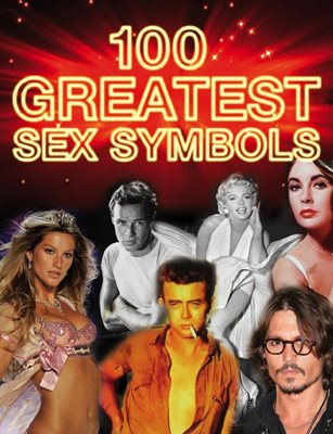 Book cover for 100 Greatest Sex Symbols
