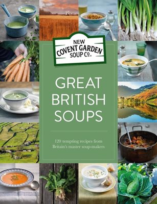 Book cover for Great British Soups