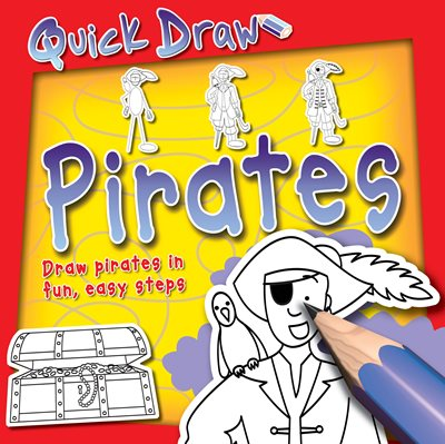 Book cover for Quick Draw Pirates