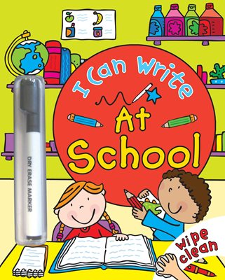 Book cover for I Can Write: At School