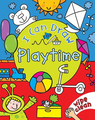 Book cover for I Can Draw: Playtime