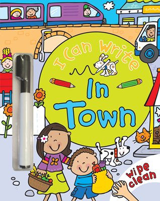 Book cover for I Can Write: In Town