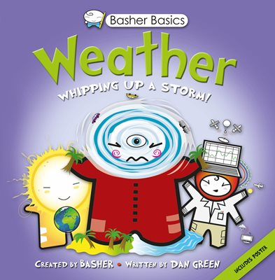 Book cover for Basher Basics: Weather