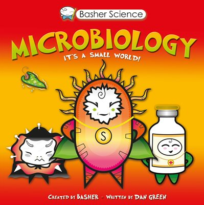 Book cover for Basher Science: Microbiology