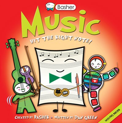 Book cover for Basher Basics: Music