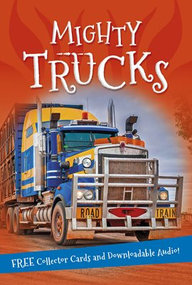 Book cover for It's all about... Mighty Trucks