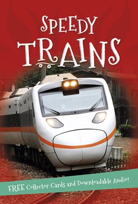 Book cover for It's all about... Speedy Trains
