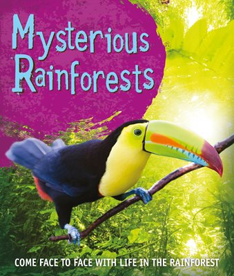 Book cover for Fast Facts! Mysterious Rainforests