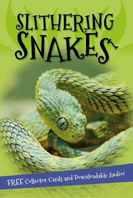 Book cover for It's all about... Slithering Snakes