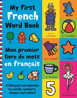 Book cover for My First French Word Book