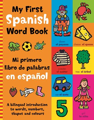 Book Cover For My First Spanish Word