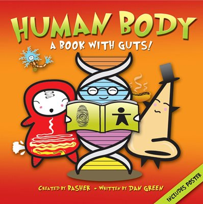 Book cover for Basher Science: Human Body