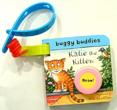 Book cover for Sound-button Buggy Buddies: Katie the...