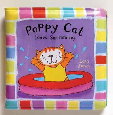 Poppy Cat Bath Books: Poppy Cat Loves Swimming