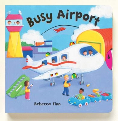 Book cover for Busy Books: Busy Airport