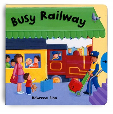Book cover for Busy Books: Busy Railway