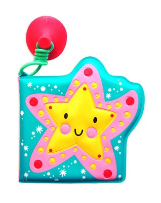 Book cover for Bath Buddies: Shiny Starfish