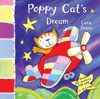 Book cover for Poppy Cat's Dream