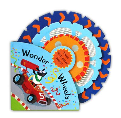 Book cover for Book Stacks: Wonder Wheels