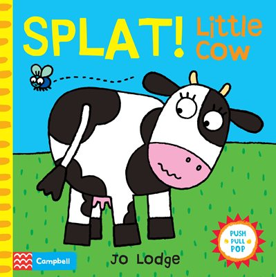 Book cover for Splat! Little Cow