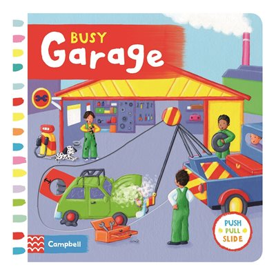 Book cover for Busy Garage