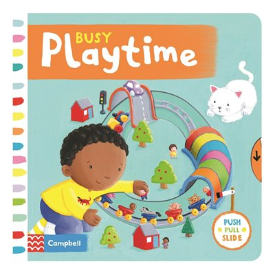 Book cover for Busy Playtime